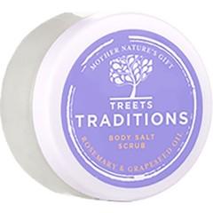 Treets Healing in harmony salt scrub mini (125 gram)