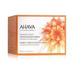 Ahava Caressing body sorbet Mandarin & Cedarwood (350 gram)