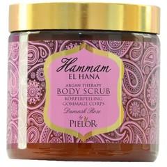 Hammam El Hana Argan therapy Damask rose body scrub (500 ml)