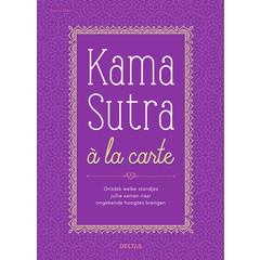 Deltas Kama sutra a la carte (Boek)