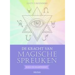 Deltas De kracht van magische spreuken boek en kaart (1 set)