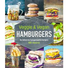 Deltas Veggie & vegan hamburgers (Boek)