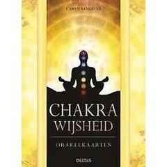 Deltas Chakra wijsheid boek en orakelkaarten (1 set)