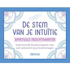 Deltas Stem van je intuitie inzicht kaarten (1 set)