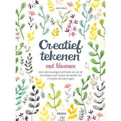 Deltas Creatief tekenen met bloemen (Boek)