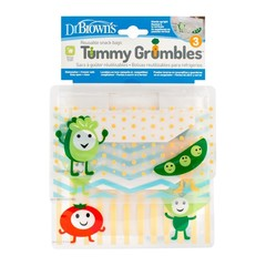 Dr Brown's Tummy grumbles snackzakjes (3 stuks)