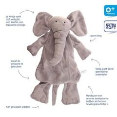 Difrax Soft olifant Elliot (1 stuks)