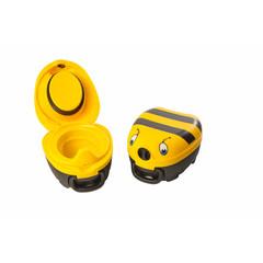 Jippies My carry potty geel met bijtje (1 stuks)