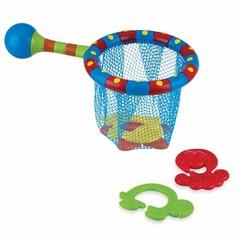 Nuby Badspeeltje net met 4 speeltjes (1 set)