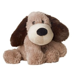 Warmies Hond donkerbruin gary (1 stuks)