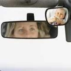 Jippies Baby view spiegel voor in auto (1 stuks)
