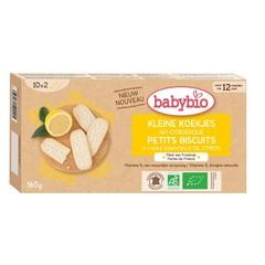 Babybio Babykoekje citroen 12 maanden (160 gram)