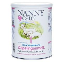 Nannycare Zuigelingenmelk van geiten 1 (900 gram)