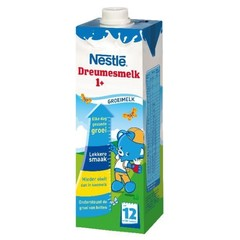 Nestle Dreumesmelk 1+ vloeibaar (1 liter)