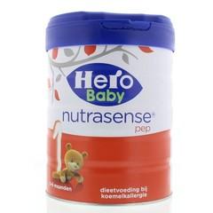 Hero 1 Nutrasense pep 0 - 6 maanden (700 gram)
