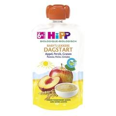 Hipp Pouch appel perzik granen (100 gram)