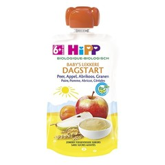 Hipp Pouch peer appel abrikoos granen (100 gram)