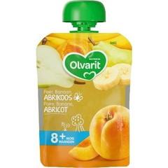 Olvarit Knijpzakje abrikoos peer banaan 8M862 (90 gram)
