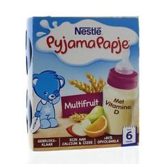 Nestle Pyjamapapje multifruit (2 stuks)