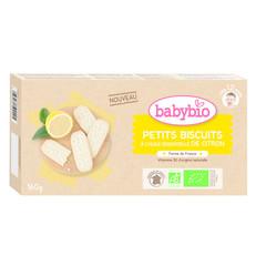 Babybio Babykoekjes citroen 12 maanden (160 gram)