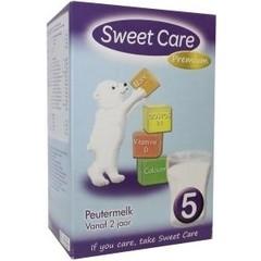 Sweetcare Standaard 5 peutermelk 24 maanden plus (800 gram)