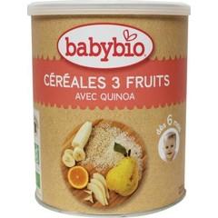 Babybio 3 Vruchtengranen 6 maanden (220 gram)