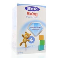 Hero Hero 4 peuter groeimelk 1+ (700 gram)