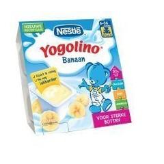 Nestle Yogolino banaan 6 mnd 100 gram (4 stuks)