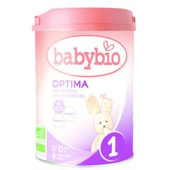 Babybio Optima 1 zuigelingen melk 0-6 maanden (900 gram)