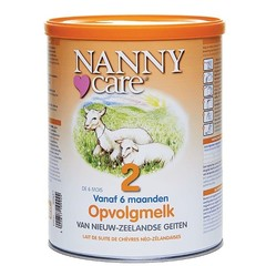 Nannycare Opvolgmelk van geiten 2 (900 gram)