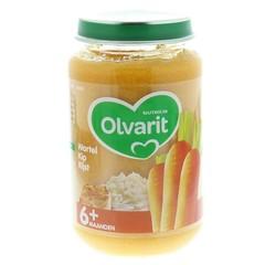 Olvarit Wortel kip rijst 6M03 (200 gram)