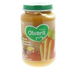 Olvarit Wortel rundvlees aardappels 6M04 (200 gram)
