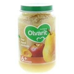 Olvarit Peer appel abrikoos 6M55 (200 gram)
