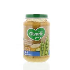 Olvarit Doperwten kalkoen aardappel 8M05 (200 gram)