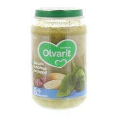 Olvarit Spinazie rundvlees aardappel 8M08 (200 gram)