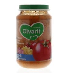 Olvarit Tomaat ham macaroni 8M09 (200 gram)