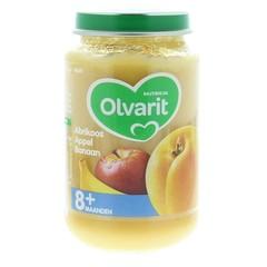 Olvarit Abrikoos appel banaan 8M59 (200 gram)