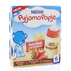 Nestle Pyjamapapje aardbei 250 ml (2 stuks)