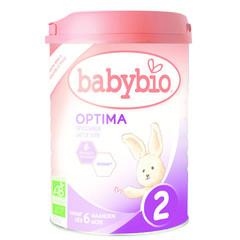Babybio Optima 2 opvolgmelk 6-12 maanden (900 gram)