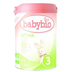Babybio Optima 3 groeimelk 1 tot 3 jaar (900 gram)