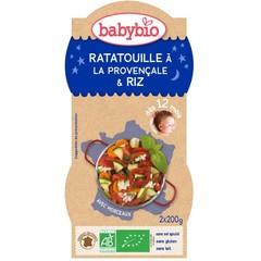 Babybio Ratatouille met rijst 200 gram (2 stuks)