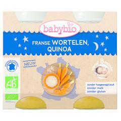 Babybio Wortel & quinoa 200 gram (2 stuks)