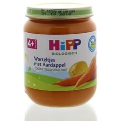 Hipp Worteltjes met aardappel 4 maand (125 gram)