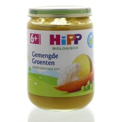 Hipp Gemengde groenten 6 maand (190 gram)