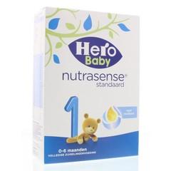 Hero 1 Nutrasense standaard 0-6 maanden (180 gram)