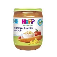 Hipp Gemengde groenten met ham (190 gram)