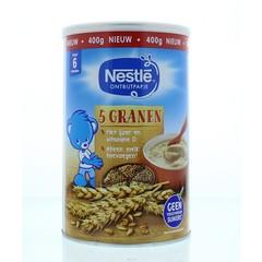 Nestle Ontbijtpapje 5 granen (400 gram)