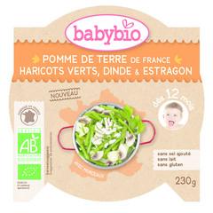 Babybio Mon petit plat aardappel princessenbonen kalkoen (230 gram)