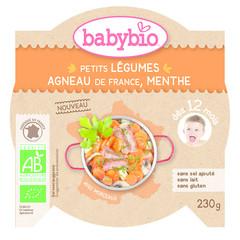Babybio Mon petit plat groente lam (230 gram)