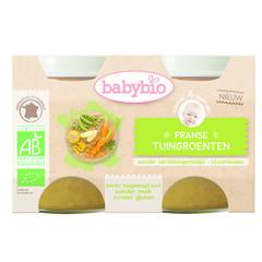 Babybio Groenten tuingroenten 130 gram (2 stuks)